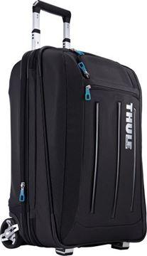 Kép Gurulós Bőrönd Crossover 45L, fekete