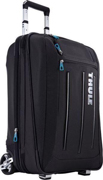 Kép: Gurulós Bőrönd Crossover 45L, fekete