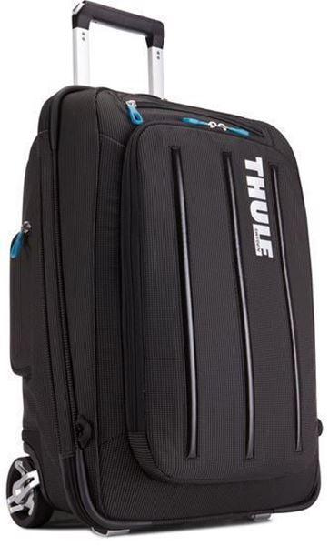 Kép: Gurulós Bőrönd Crossover 38L, fekete