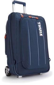 Kép Gurulós Bőrönd Crossover 38L, sötét kék