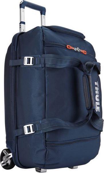 Kép: Gurulós Bőrönd Crossover 56L, sötét kék