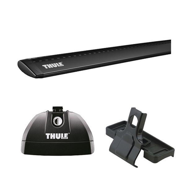 Kép: Tetőcsomagtartó THULE Rapid, fekete WingBar